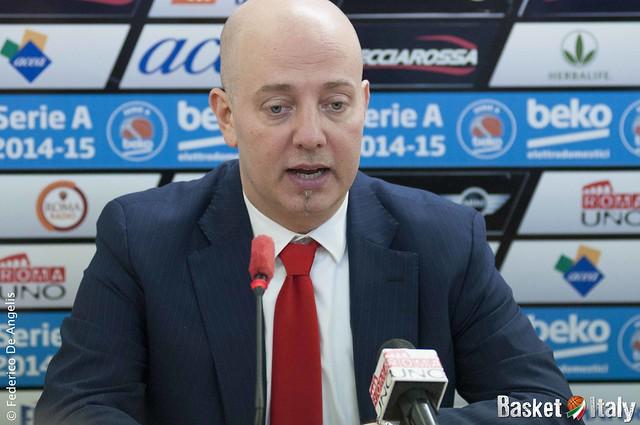 Grissin Bon Reggio Emilia, Coach Massimiliano Menetti