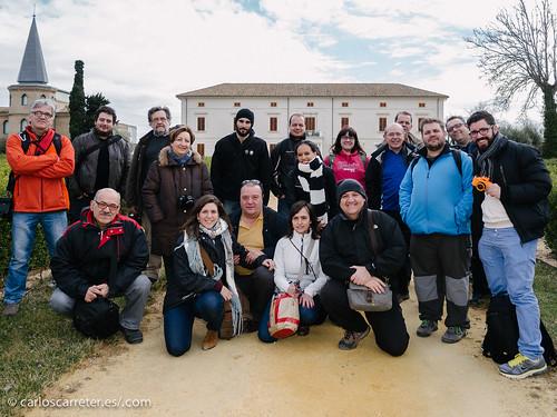 Foto de grupo - FeZ en La Alfranca