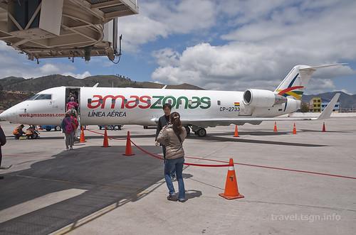 【写真】世界一周 : アレハンドロ・ベラスコ・アステテ国際空港