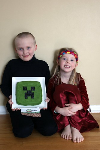 Minecraft birthday fun