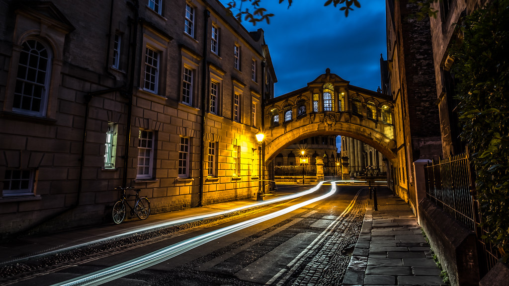 The bridge of sighs, Oxford, United Kingdom picture