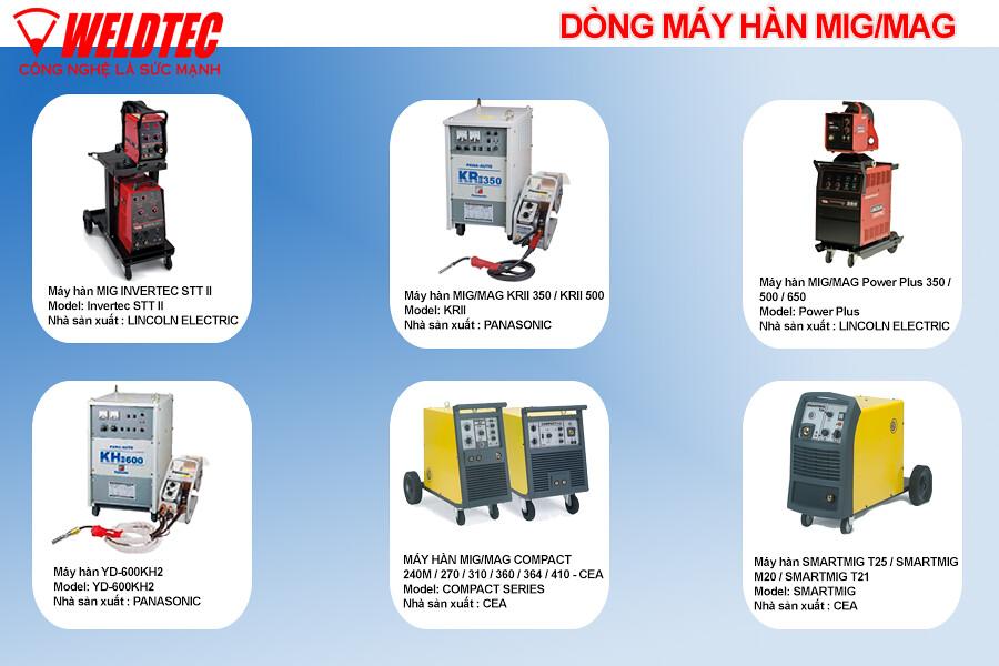 MÁY HÀN- Các loại máy hàn với giá theo giá niêm yết nhà cung cấp - 3