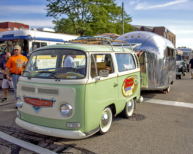 VW Mini Bus with Airstream