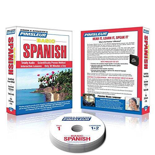 Amazon.com: Pimsleur Spanish Level 1 CD: Learn to Speak ...