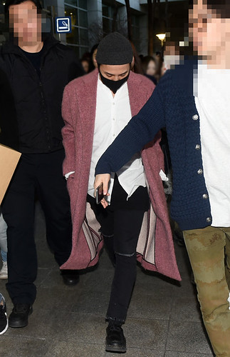 Big Bang - Incheon Airport - 22mar2015 - G-Dragon - Newsen - 04