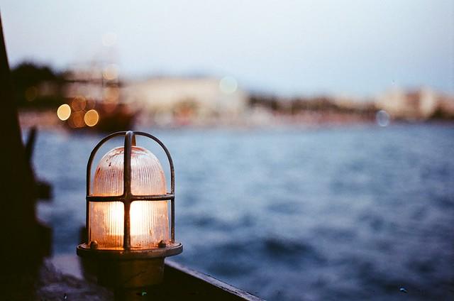 Boat lamp...Thessaloniki...(Film)
