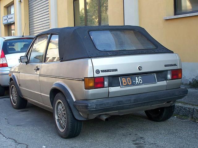 VW Golf Cabrio GL - 1985