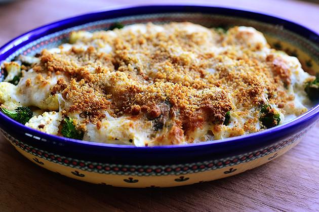Broccoli-Cauliflower Casserole