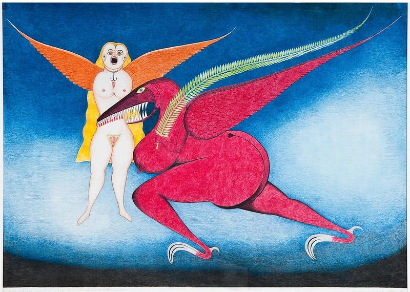 FRIEDRICH SCHRÖDER-SONNENSTERN - The Peace Hawk, 1960