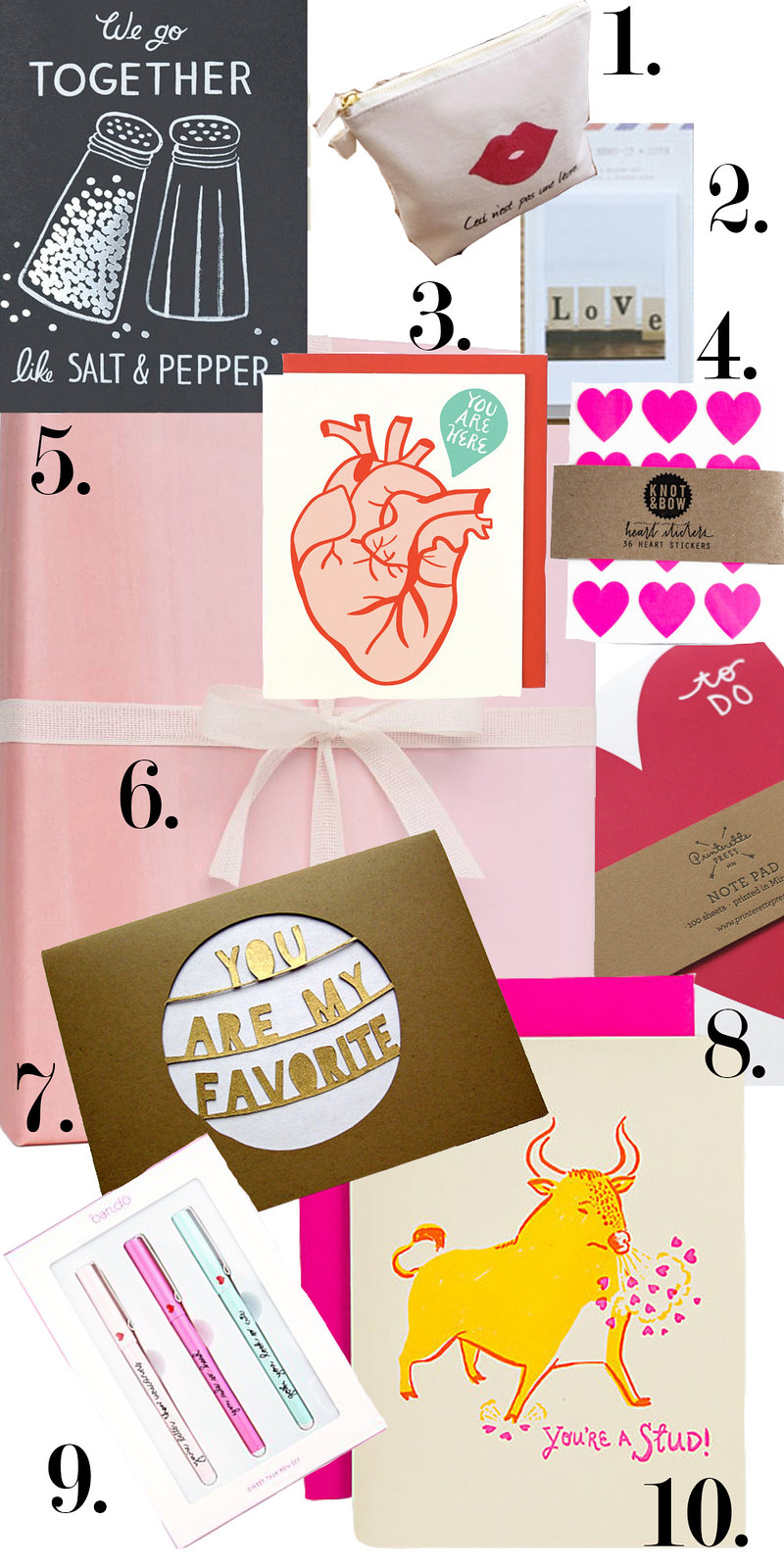 valentine, stationary, mail, wishlist, etsy, kate spade,