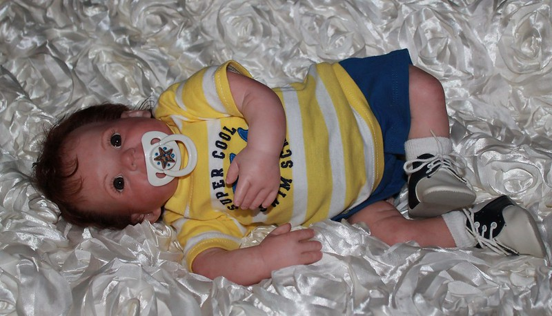 Sweet Pea Babies Nursery Reborn Doll Baby Boy Alex Was