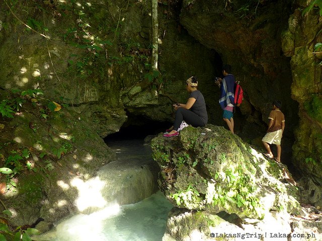 We need to go in the cave to get to Kalubihon Falls. Iligan City, Philippines