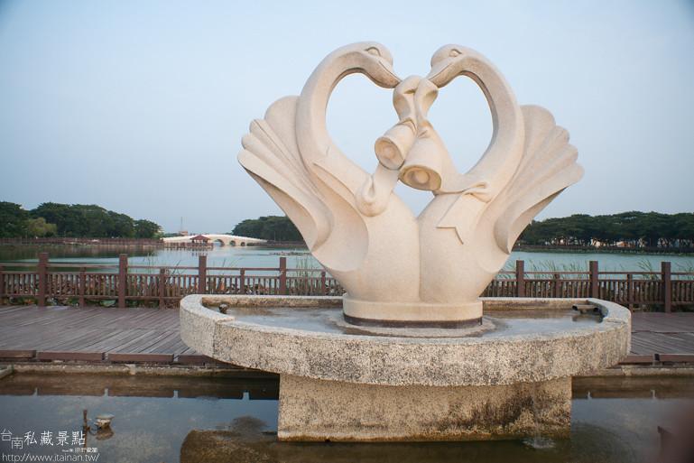台南私藏景點-新營天鵝湖 (6)