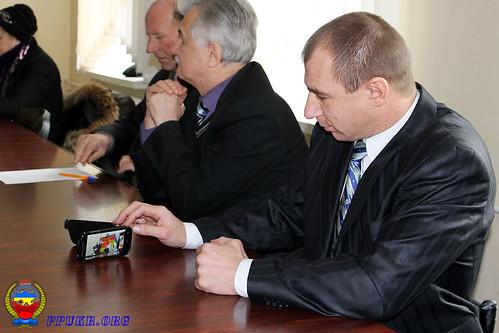 Конференция Волынской областной организации Партии Пенсионеров Украины - Луцк 16.12.2014 г (8)