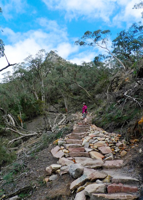 Mount Abrupt track was repaired and re-opened in January 2012