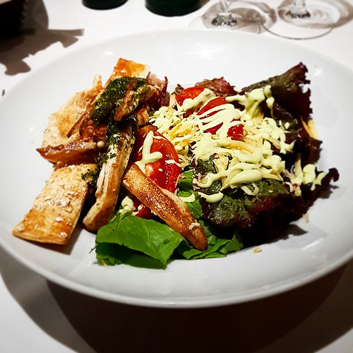 #nofilter #hambre #cena #ensalada #salad