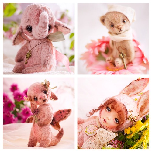 My teddys of 2014 #teddy #artistteddy #teddybear