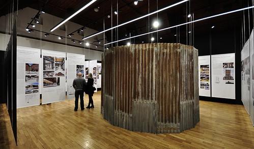 Industriální topografie / architektura konverzí 2005-2015. Galerie Jaroslava Fragnera v Praze, 17.12.2014-1.2.2015