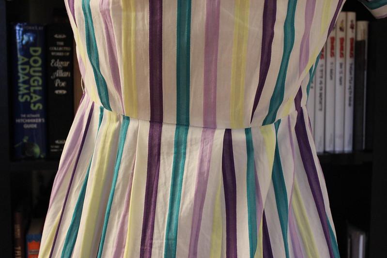 Striped Sunday dress