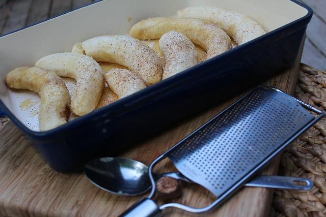 Honey Roasted Bananas