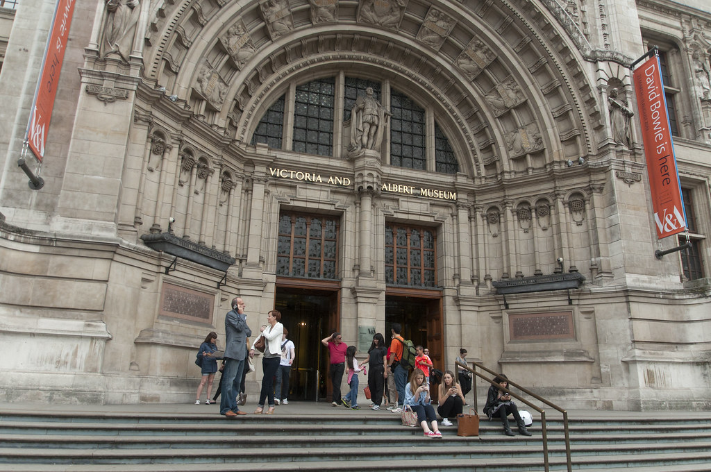 V&A, National History and Science Museum in London