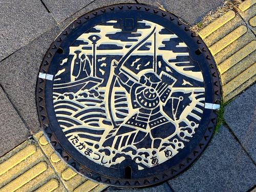 Takamatsu Kagawa, manhole cover 4 (香川県高松市のマンホール4)