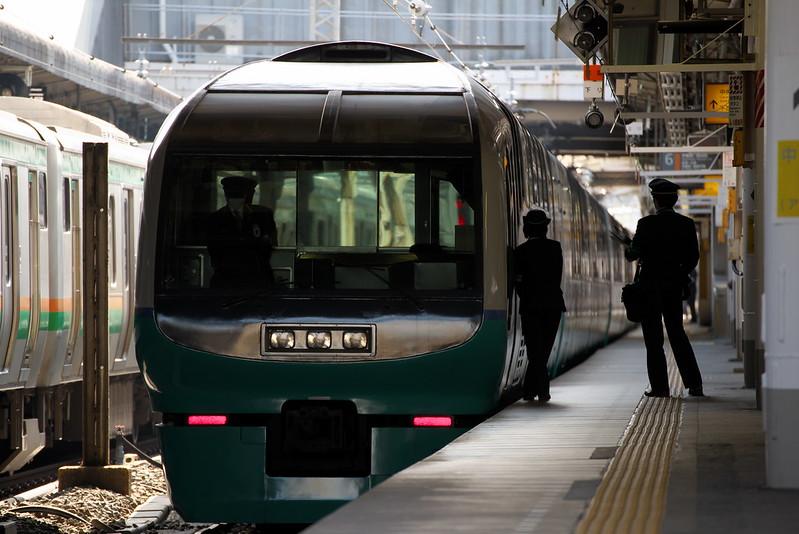 Tokyo Train Story 上野東京ライン スーパービュー踊り子 2015年3月5日
