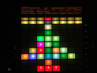 Ableton push Christmas tree