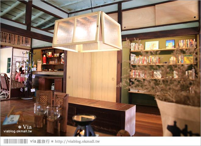 【台中老宅餐廳】台中下午茶~拾光機。日式老宅的迷人新風情,一起文青一下午吧!34