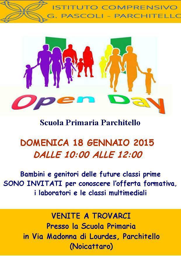 Noicattaro. Open Day scuola Pascoli 2015 intero