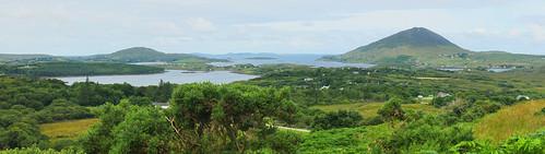 county ireland panorama mountain galway lough harbour sony connemara tully 2014 letterfrack a700 dslra700 ballynakill