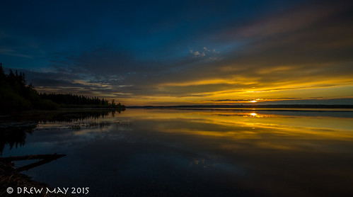 county sunset sky lake canada water glass clouds skyscape landscape photography lakes may drew alberta isle refection parkland drewmayphoto