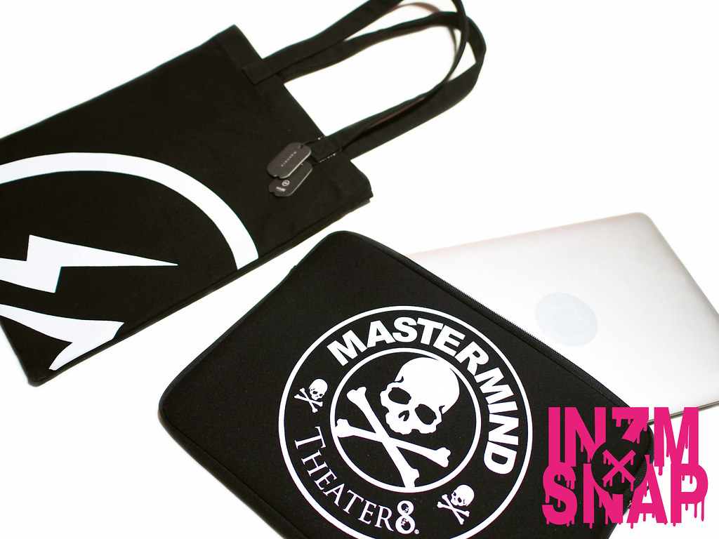 fragment design Tote Bag , Theater8 casted by mastermind JAPAN PC Case , MacBook