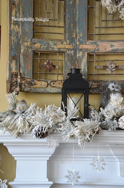 Winter Mantel 2015-Housepitality Designs