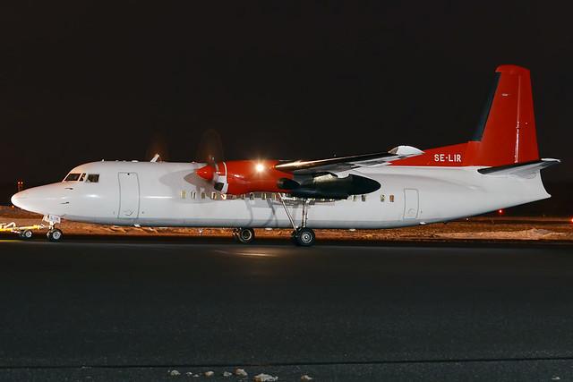 Amapola Flyg, SE-LIR, Fokker F50