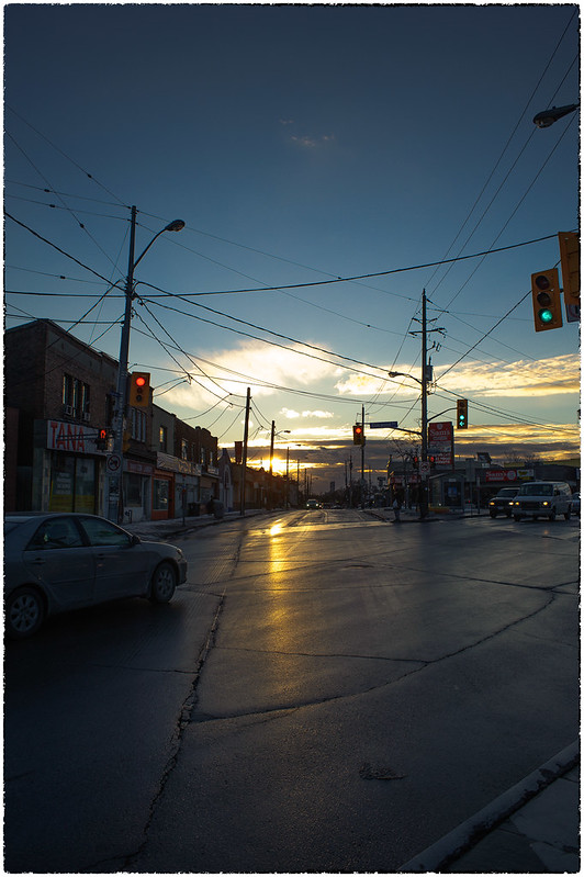 Sunrise Over Oakwood