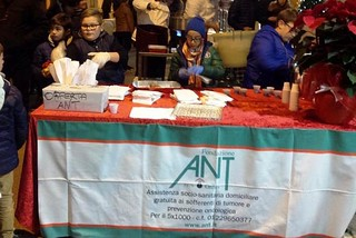 Noicattaro. Lo stand dell'ANT front