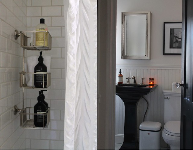 Bathroom {tiny} Before and After