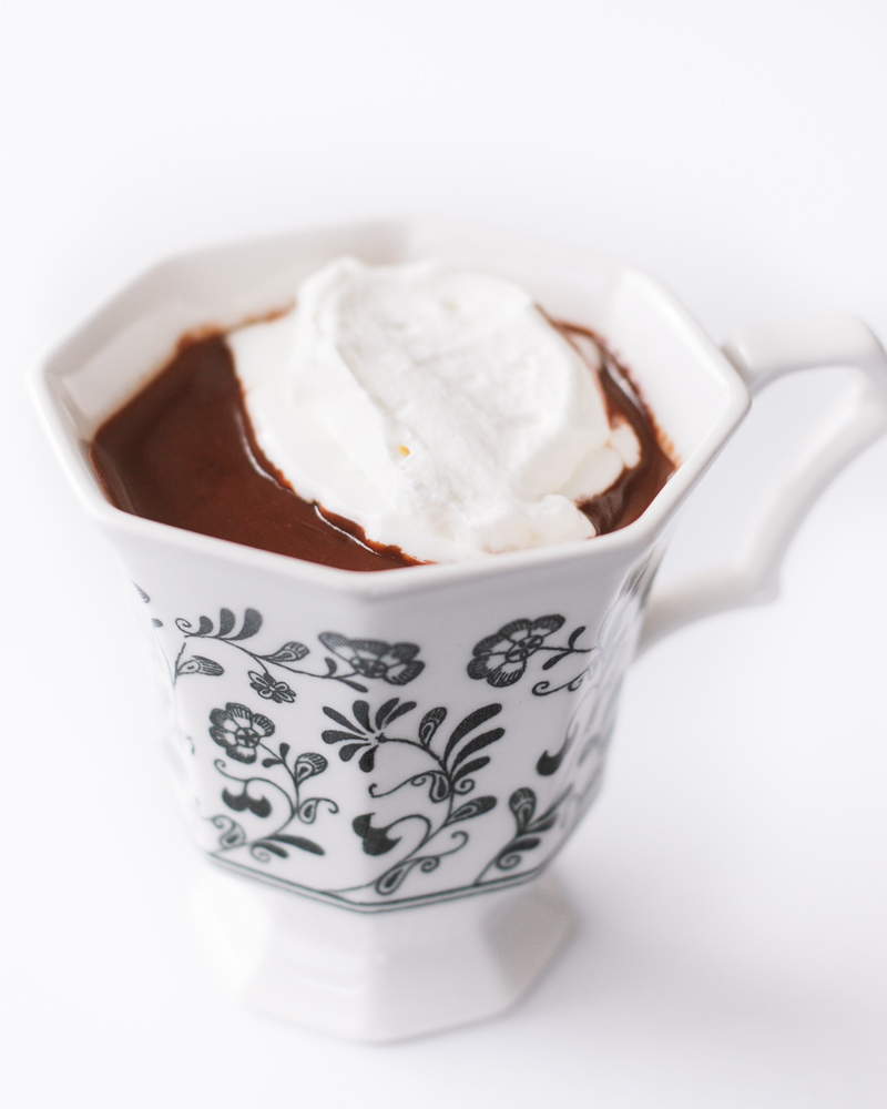Homemade Hot Chocolate | Buttered Side Up