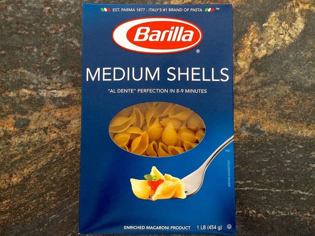 Barilla Pasta Shells
