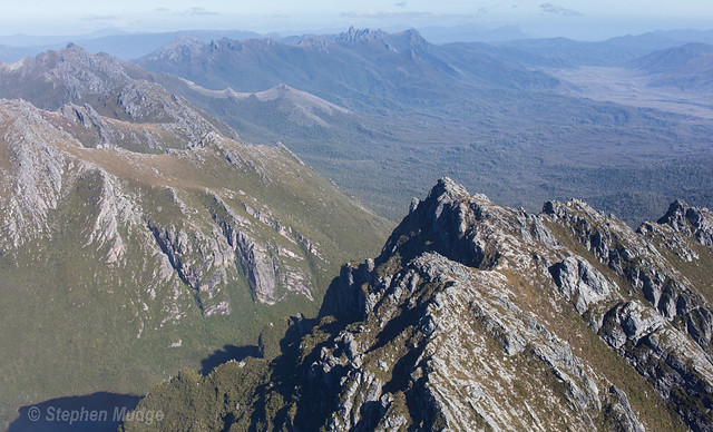 Arthur Range from the air