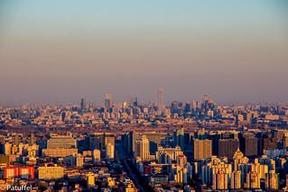 Beijing Skyline by patuffel