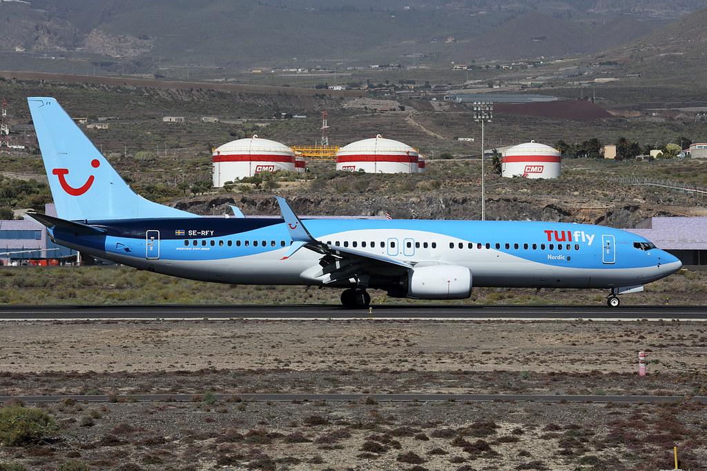 SE-RFY - B738 - Boeing