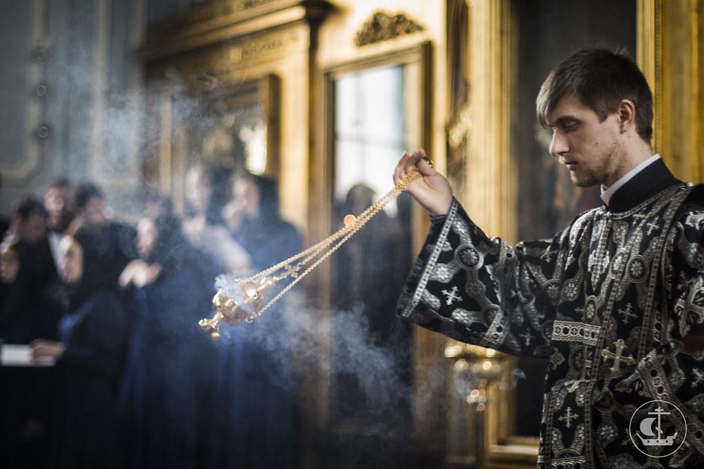 25 февраля 2015, Литургия Преждеосвященных Даров / 25 February 2015, Divine Liturgy of the Presanctified Gifts