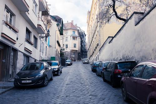 Random street in Budapest