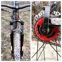 Always something new to test about. #mtb #29er #ss #singlespeed #steel #KHS #Zbike #crankbrothers