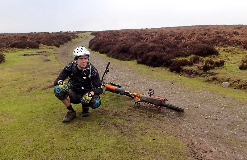MTB Long Mynd - Feb 2015