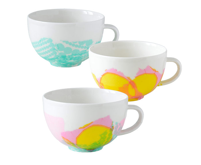DIY Tissue Paper And Decoupage Decorated Cups