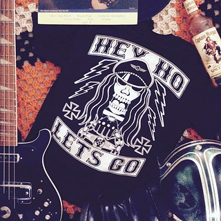 Hey Ho Lets Go! brand spankin new tees from KILLSCUMSPEEDCULT.COM tags; ramones, race, vintage, retro, biker, 70s, style, flash, art, tattoo, shirt, sweatshirt, hoodie, bobber, chopper, sons, of, anarchy, punk, rock, n, roll, foreve