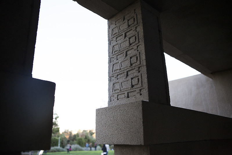 Hollyhock House - February 2015